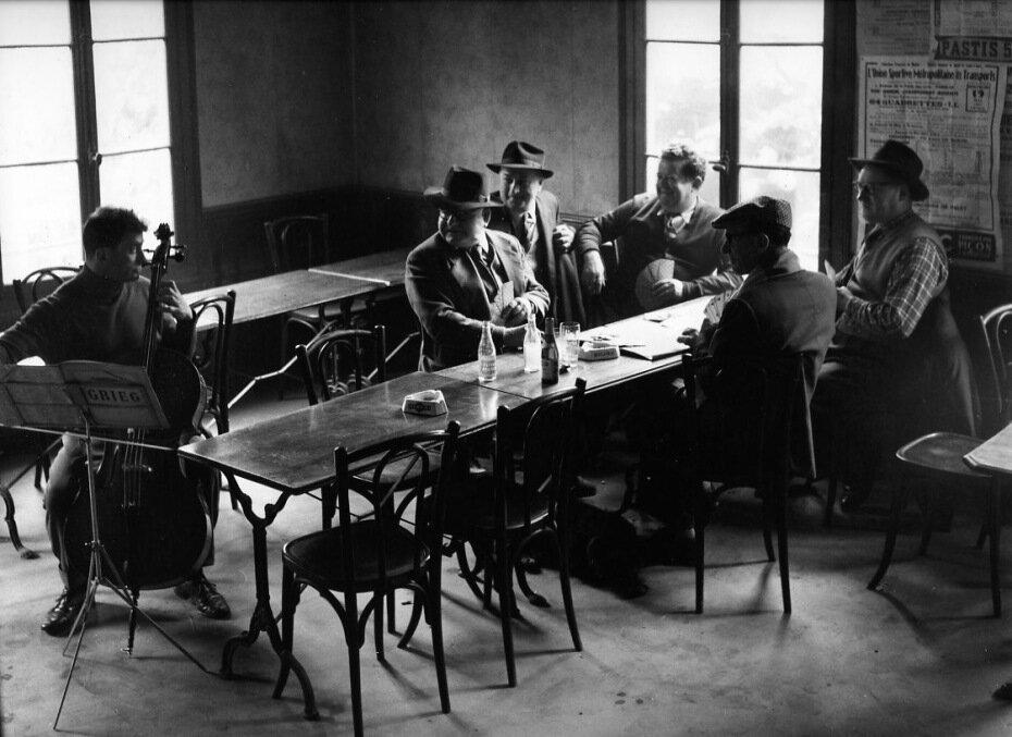 1957. Боулинг на рю Дес Каскадес