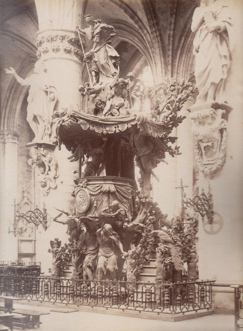 Собор Святых Михаила и Гудулы. 1875