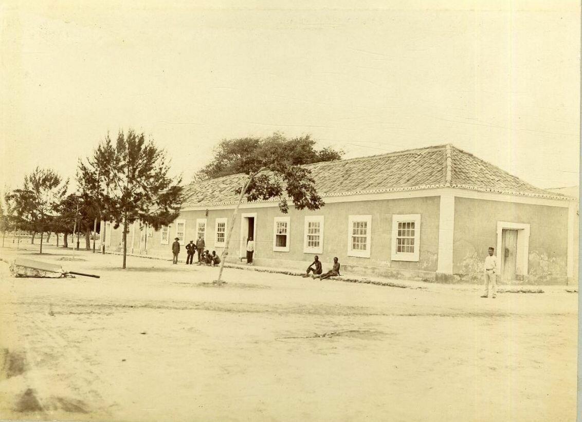 Здание почты и телефонной станции