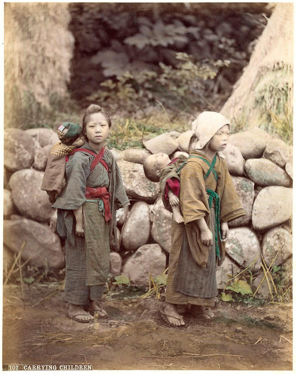 Переноска детей, 1880-е