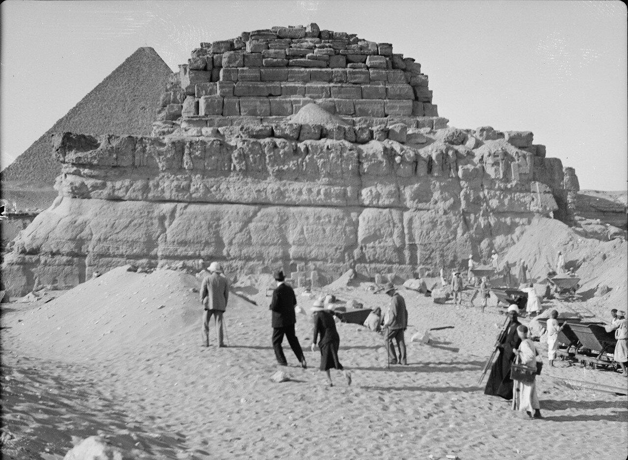 Гиза. Четвертая пирамида. 1934
