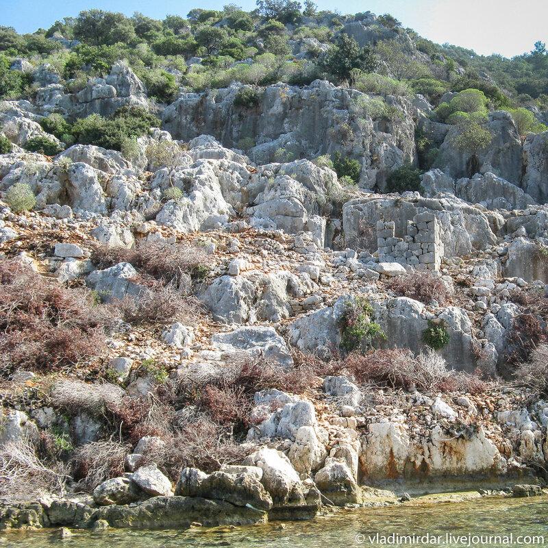 Древний античный город Долихисте