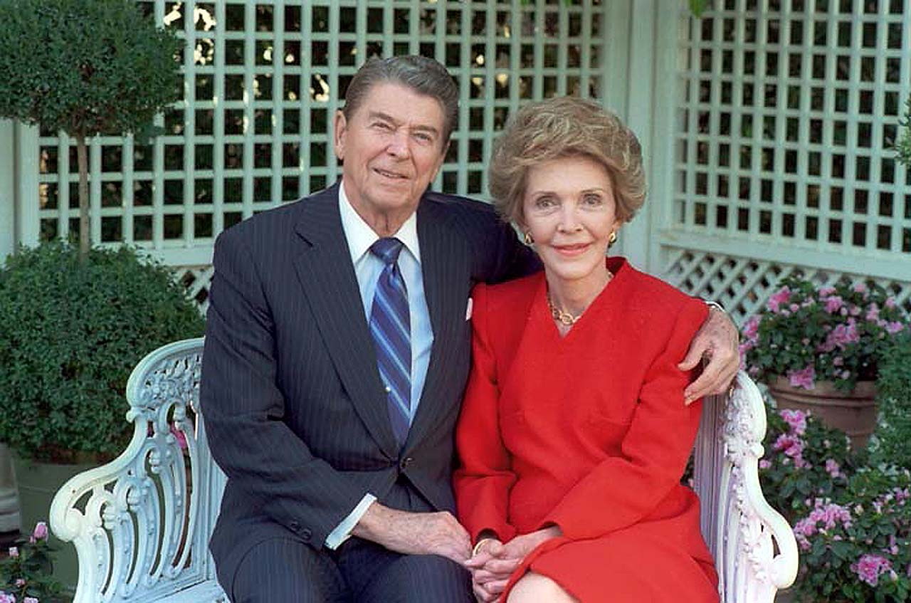 Ronald Reagan and Nancy Reagan. Рональд и Нэнси Рейган.jpg