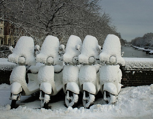 Зима в Амстердаме