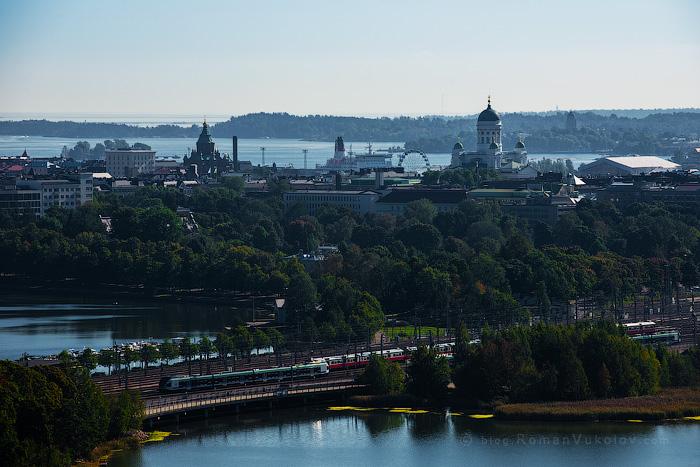 Хельсинки с высоты