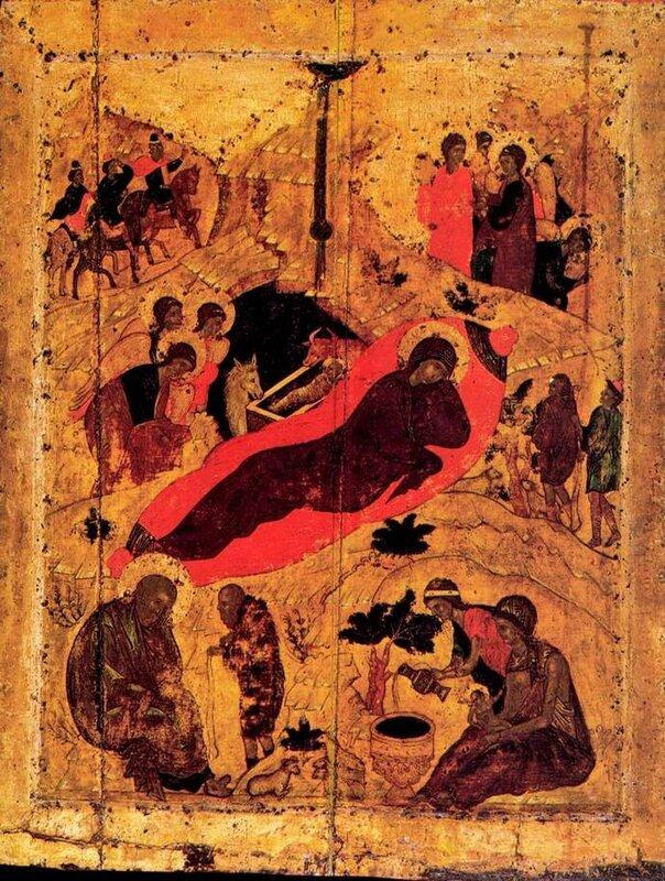 Андрей Рублев1405 г.Праздничный чинБлаговещенский собор Московского Кремля