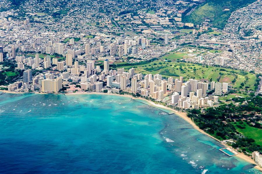 3. Гонолулу. Гонолулу — самый большой город архипелага Гавайских островов и, одновременно, столица ш