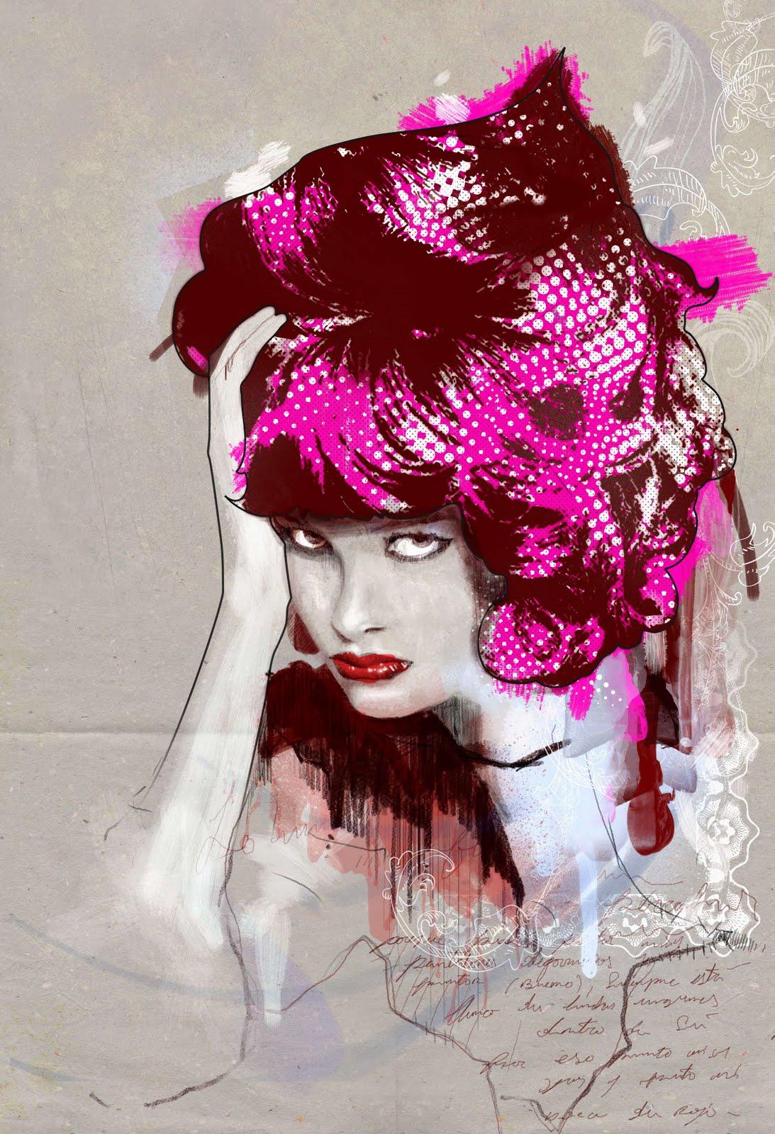 Мода и иллюстрации Роберт Тирадо