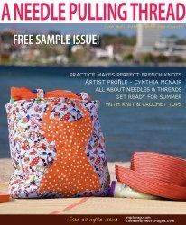 Журнал A Needle Pulling Thread. Free Sample Issue