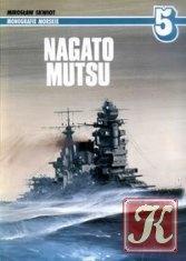 Книга Nagato, Mutsu (Monografie Morskie 5)
