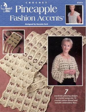 Журнал Журнал Pineapple Fashion Accents Crochet