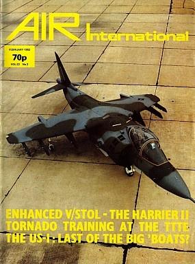 Журнал Air International - Vol 22 No 2