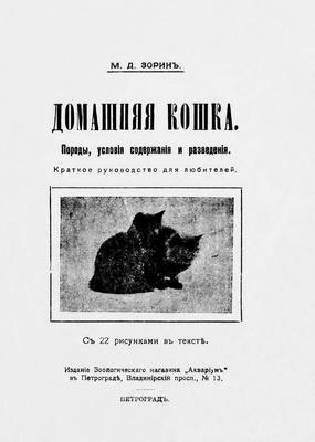 Книга Домашняя кошка