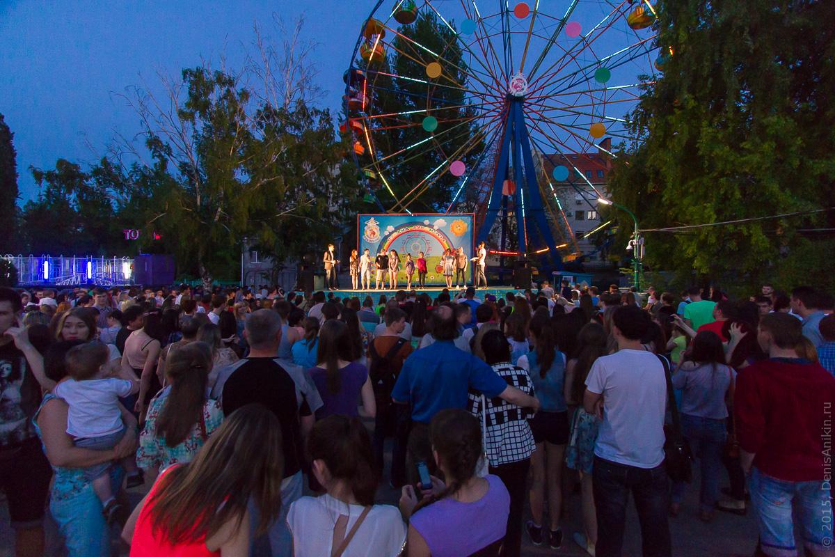 Фестиваль водных фонариков Саратов 1
