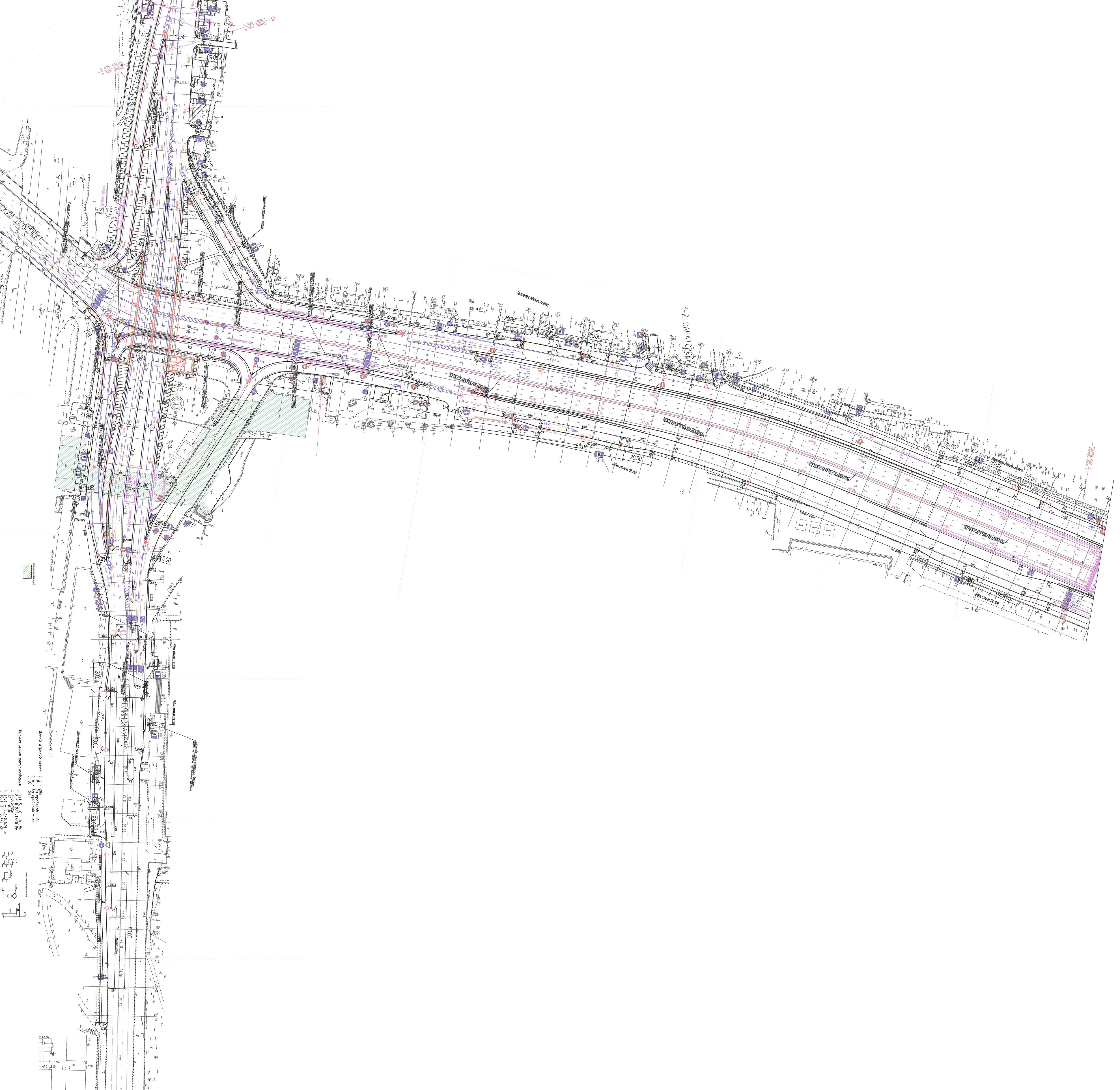 Схема развязки волгоградский проспект и люблинская улица