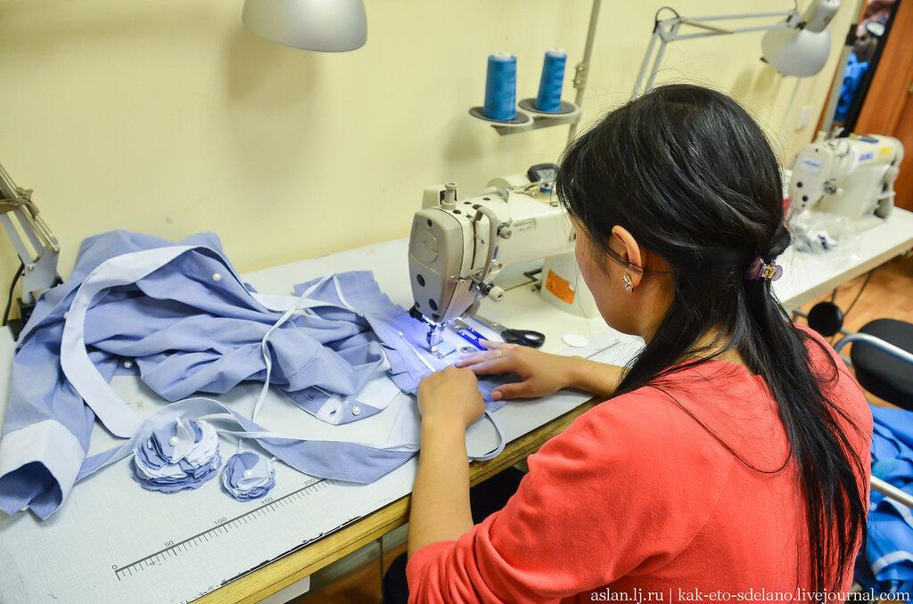 Как шьют женские сорочки и платья