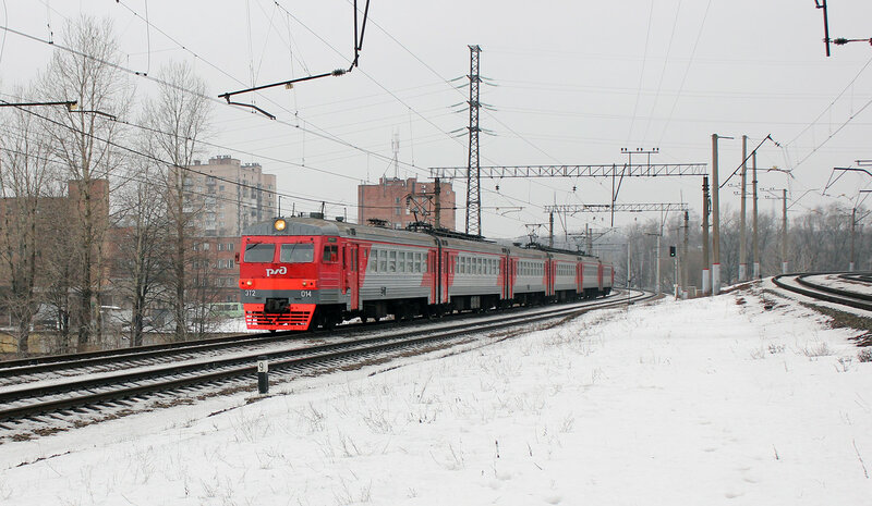 ЭТ2-014, Перегон Ланская - Санкт-Петербург Финляндский