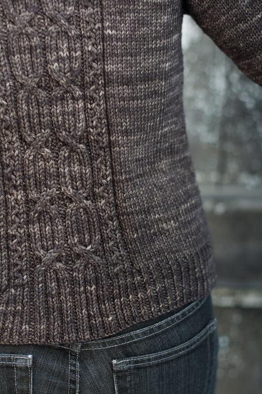 插肩开衫 - 编织幸福 - 编织幸福的博客