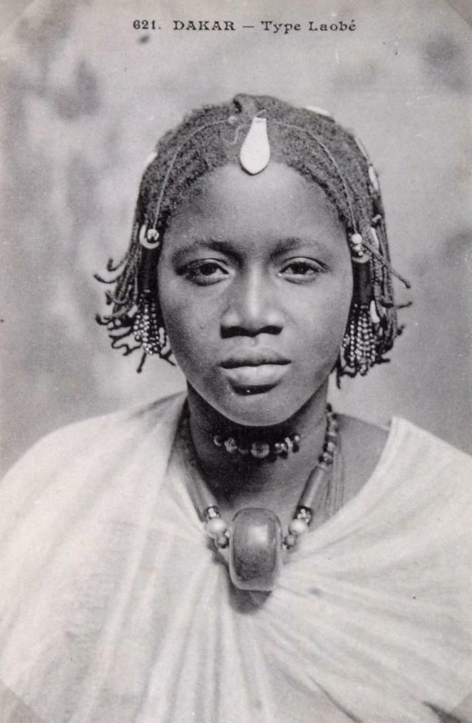 1910. Сенегал.