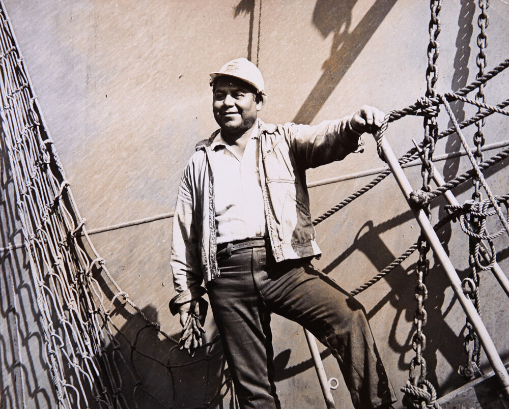 1952. Рыбак