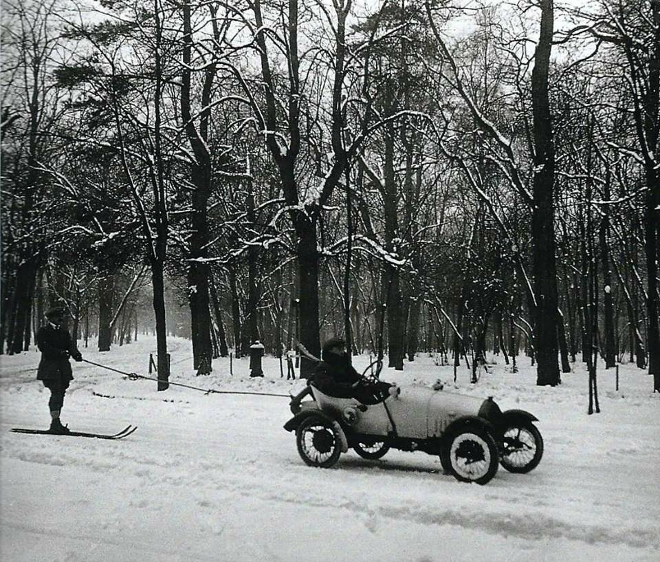 1916. Булонский лес