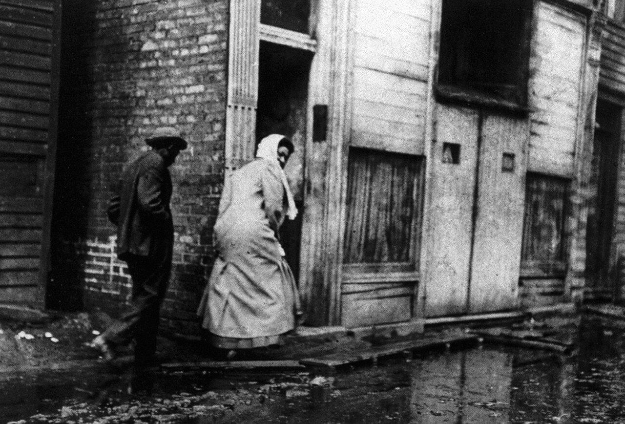 1911. Пара негров в Чикаго