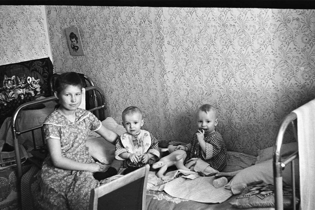 1950-е. Старшая