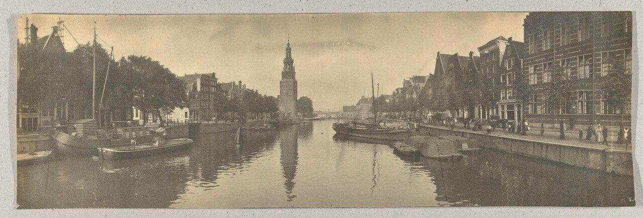 1900. Панорама Амстердама