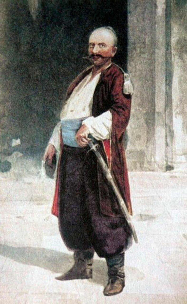 Уманский сотник Иван Гонта