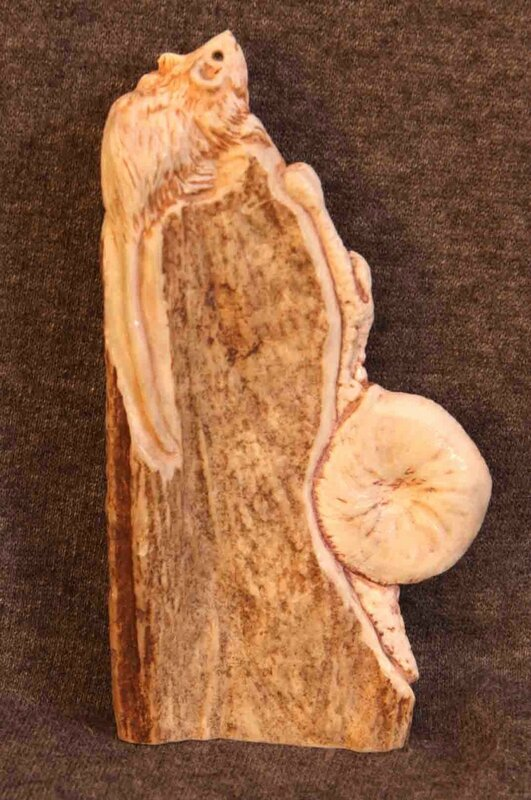 Скульптура Мышь и улитка