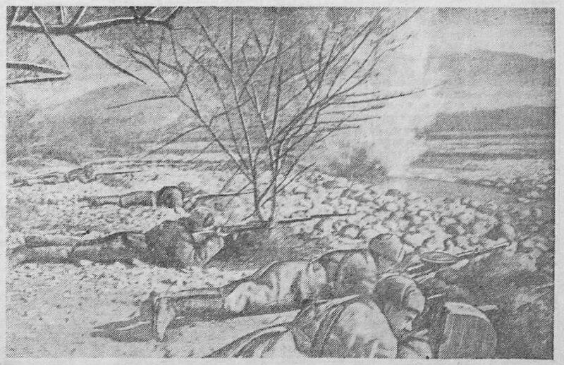 «Красная звезда», 20 ноября 1942 года, красноармеец, Красная Армия, как русские немцев били