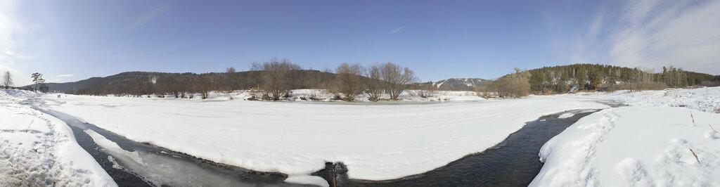 река Ай весной