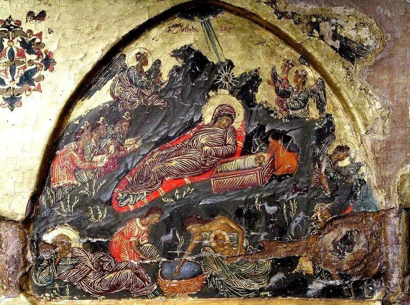 Рождество Христово. Икона. Кипр.