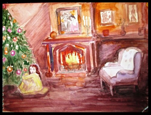 теплая гостиная