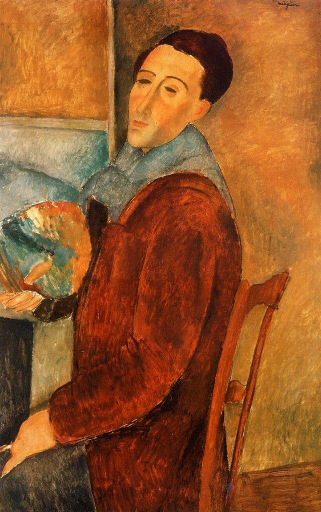 Self Portrait - 1919 - Painting - oil on canvas.jpeg