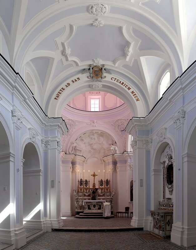 Искья, Форио. Церковь Сан-Гаэтано (Chiesa di San Gaetano)