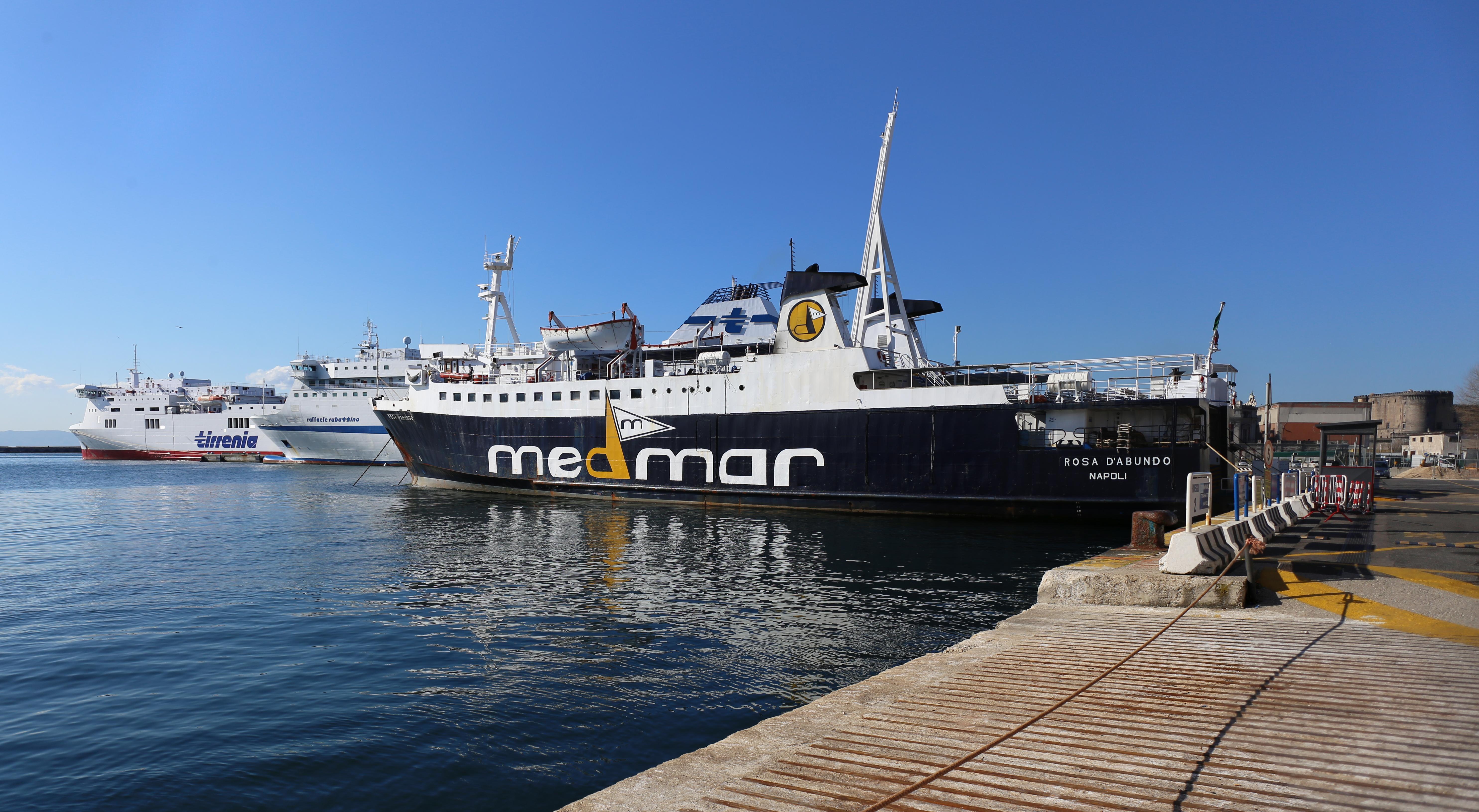 Naples Ferry Dock Calata Porta Di Massa Naples Travels