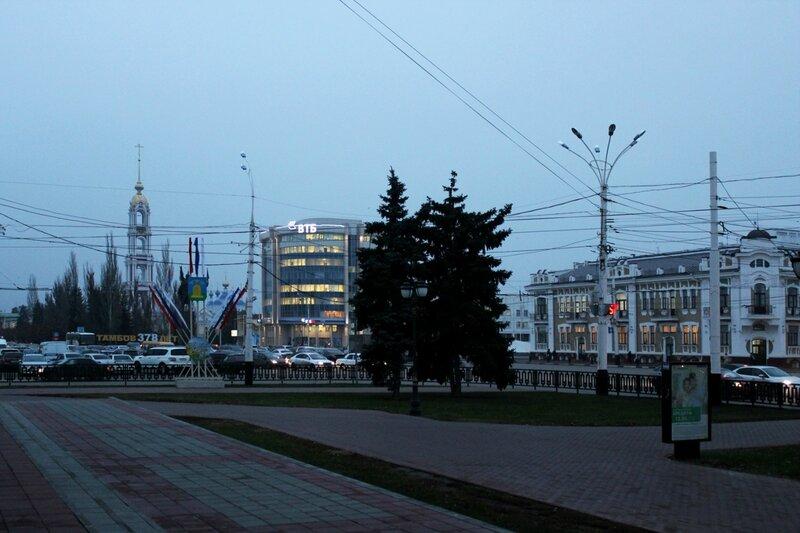 Ленинская площадь. Ноябрь 2014