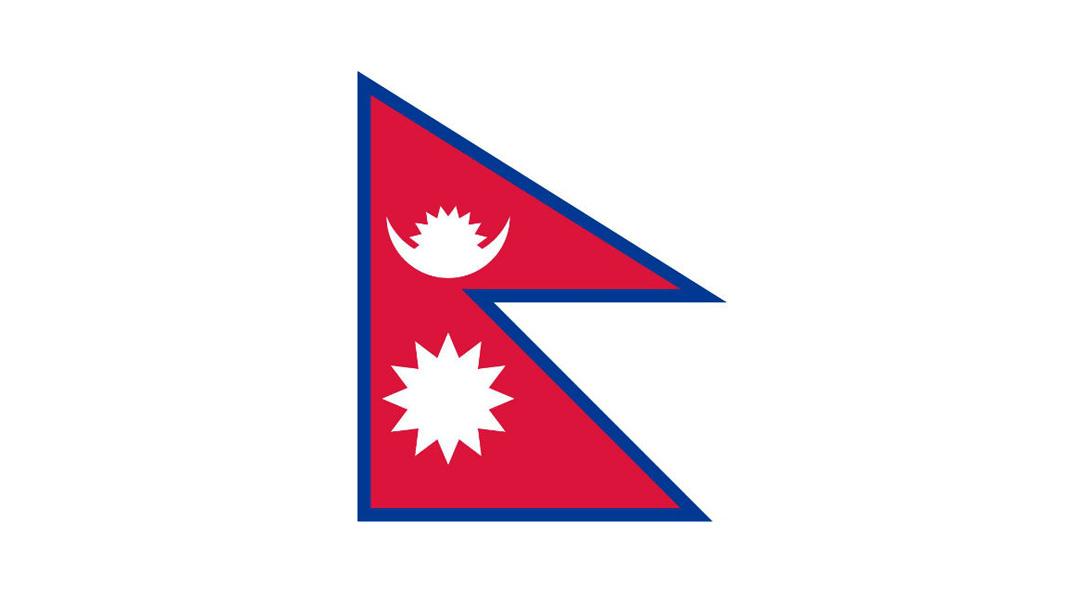 7. Непал Единственный национальный флаг, который не является классическим четырехугольником.