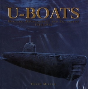 Книга U-Boats History Development and Equipment 1914-45