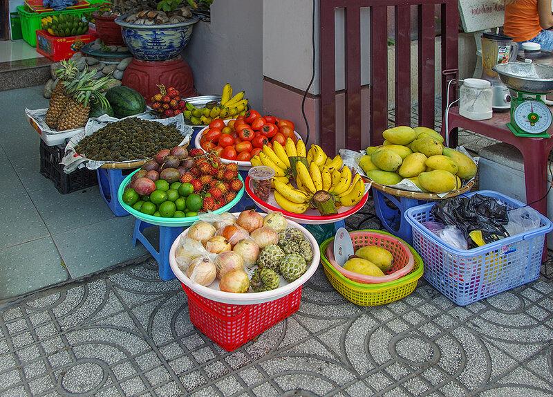 Так продают фрукты