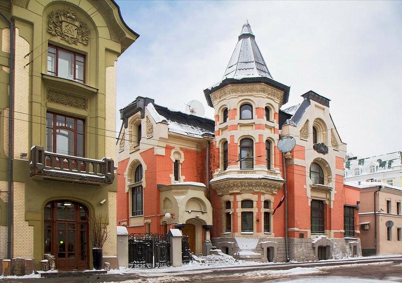Москва.  Особняк на Остоженке.