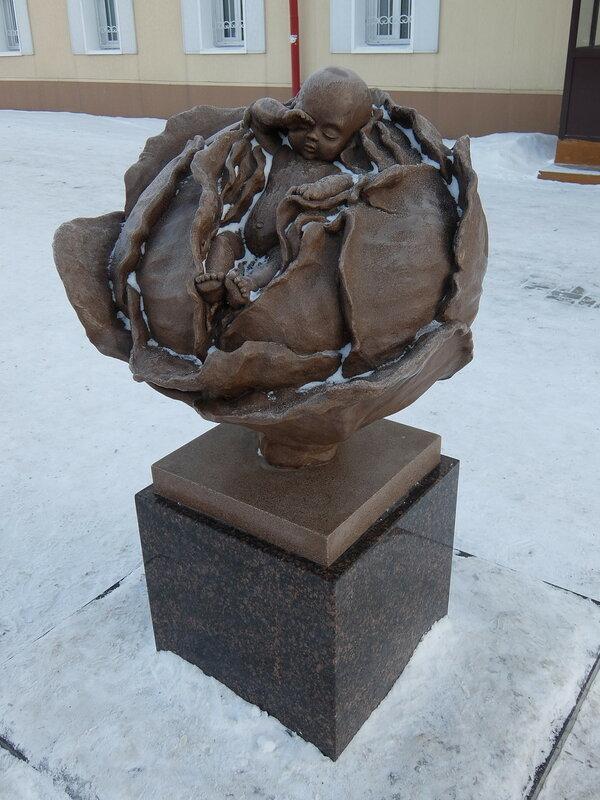 Томск - Памятник капусте