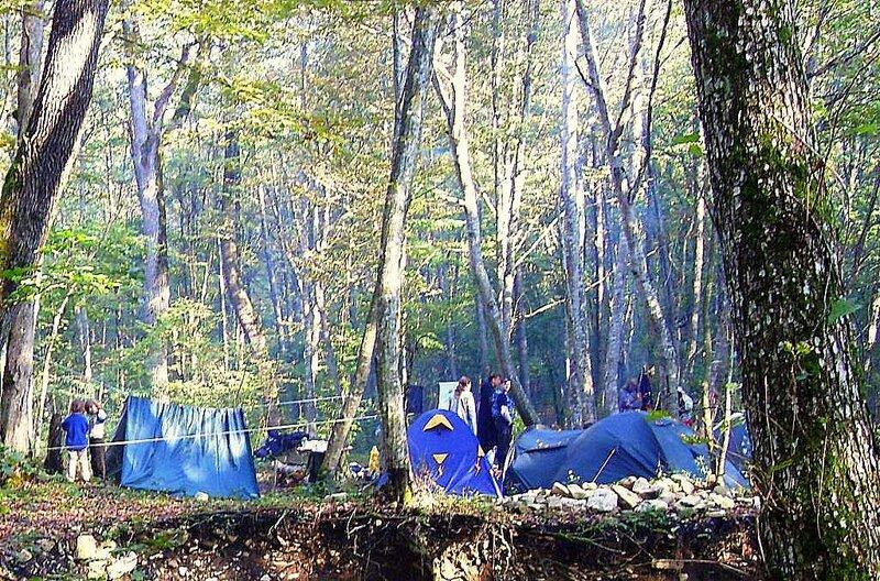 У палаток, под Горячим Ключом, на слёте бардовском ... (192).JPG
