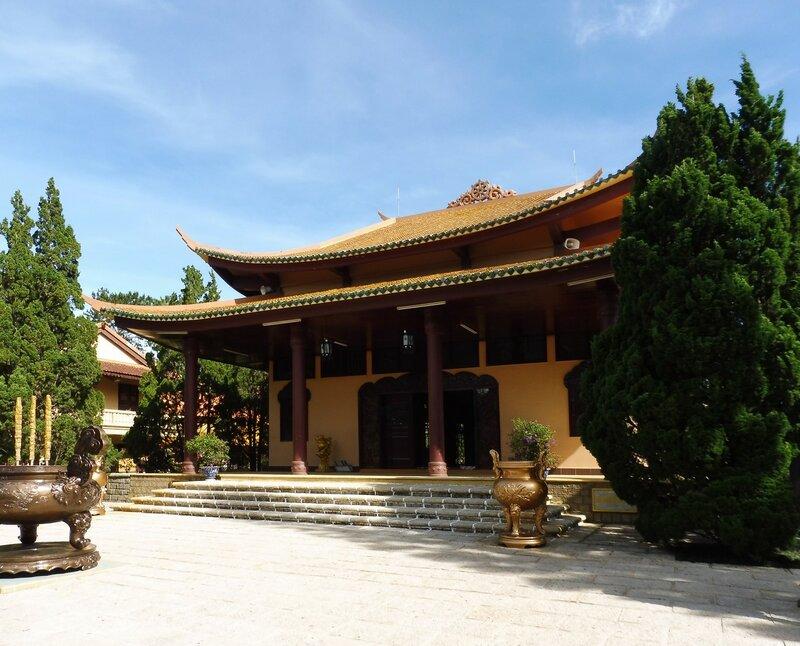 Монастырь Чук Лам Тхиенвиен