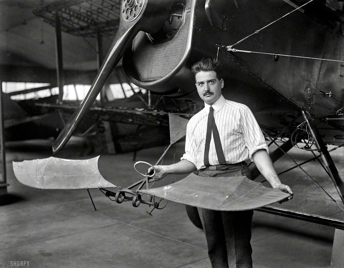 Самолеты и пилоты начала 20-го века на снимках американских фотографов (29)