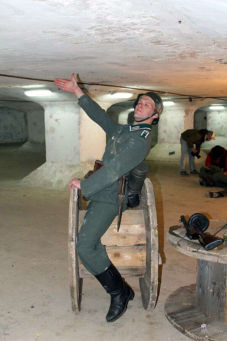 Забавные моменты из жизни военных реконструкторов (93)