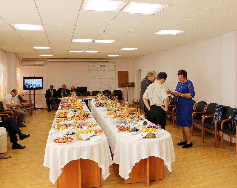 Банкет в конференц-зале ДМЗ