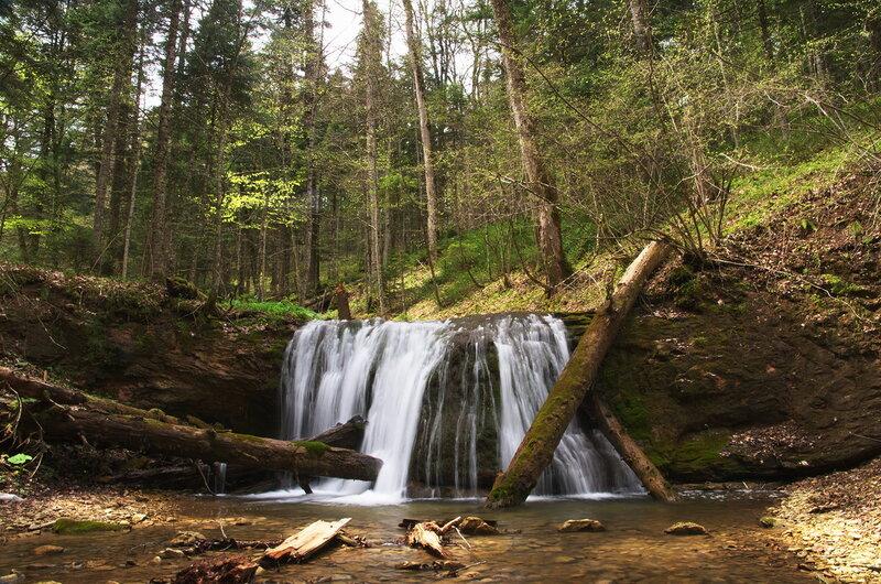 Водопад на реке мезмай