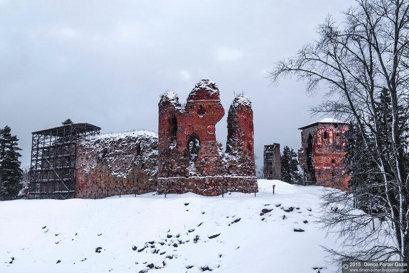 Эстония. Крепость Ватсейлинна